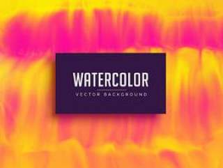 黄色和粉红色的水彩纹理背景