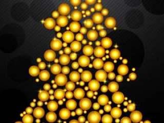 与小金球的圣诞树