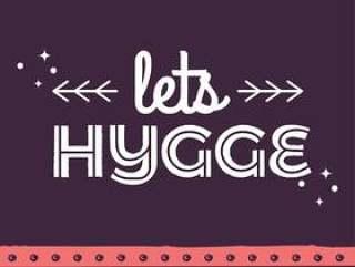 让我们来看一下Hygge海报
