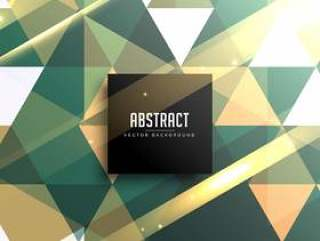 抽象复古闪亮几何三角形背景