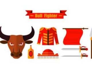 套公牛战斗机象