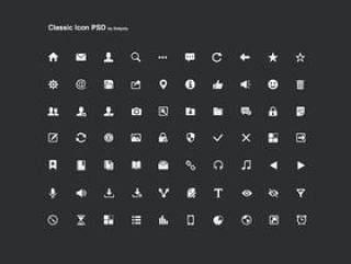 一组精致的icon