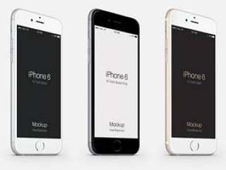 3-4 iPhone 6 Psd矢量模拟