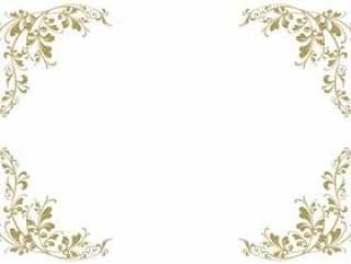 经典的简单框架边框框架装饰框架