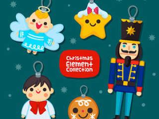 可爱圣诞节吊牌