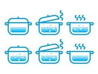 沸腾的水矢量