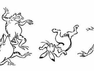 野生动物漫画插图01