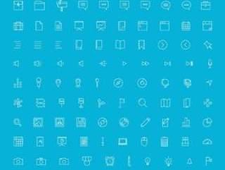 线性UI图标素材合集