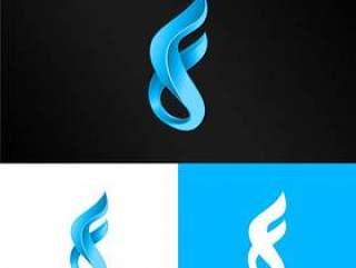 3d字母f标志