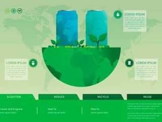 回收和再利用锡盒和其他垃圾