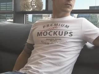 T恤VI展示 PSD 智能图层 高清 T恤 tshirt