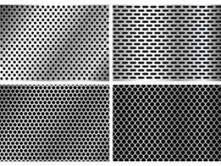 金属扬声器格栅纹理