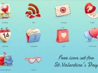 甜美icon图标源文件