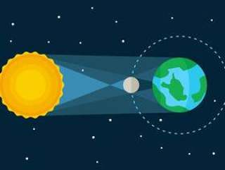 优秀的日食向量