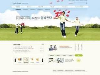 企业网站模板PSD分层(759)