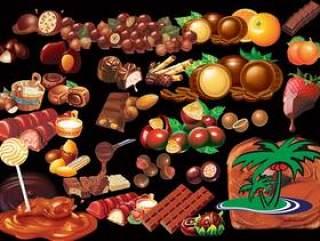 各种巧克力psd分层素材psd分层素材