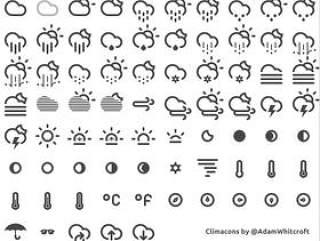 国外天气图标2