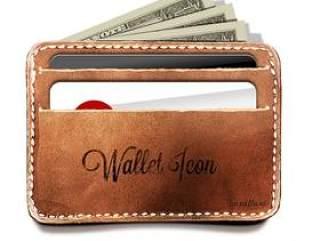 写实钱包图标—psd分层素材