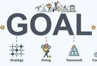 目标横幅web图标集显示成功图。