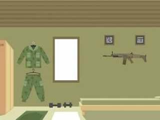 海军密封室 矢量