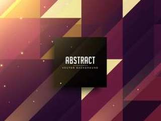 抽象三角形闪亮背景设计