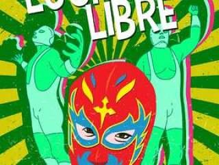 墨西哥摔跤手面具