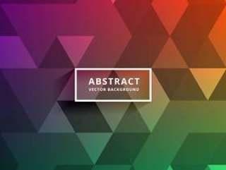 多彩的三角形状图案设计背景