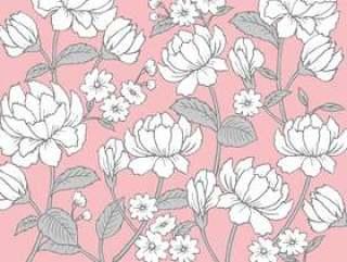 玫瑰花纹纹理粉红色
