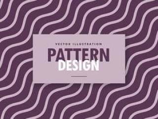 紫色色调中最小的波浪对角线