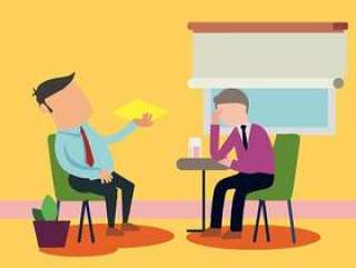 患者谈话与心理学家传染媒介例证