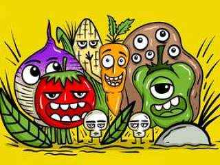 蔬菜的字符向量