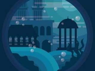 亚特兰蒂斯市的插图