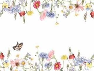花框架175 - 漂亮的花园的装饰框架