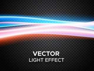对方格的背景的传染媒介光线影响