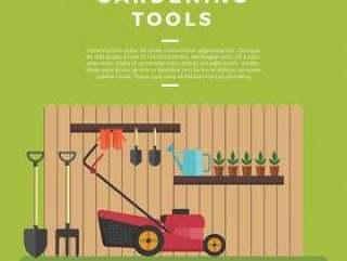 园艺工具矢量