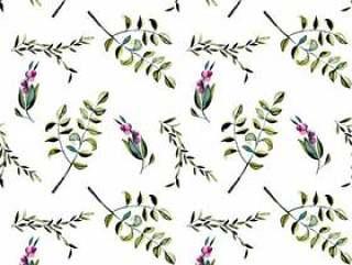 无缝的花卉图案