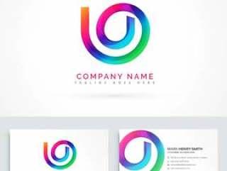 抽象的标志设计理念