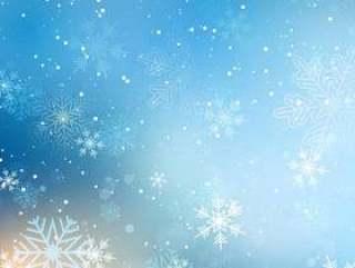 圣诞雪花背景