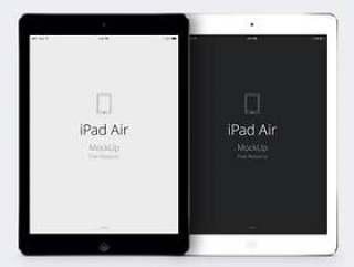 iPad Air Psd矢量模型