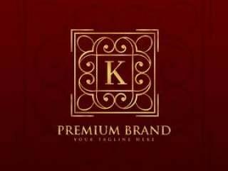 字母K的金会徽标志设计