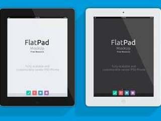 iPad Psd平板模型