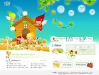 儿童娱乐网站模板(28)