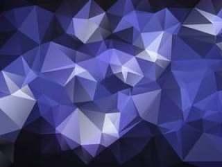 传染媒介多角形摘要几何背景。