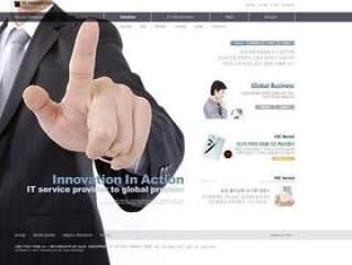 企业网站模板PSD分层(758)