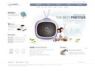 企业网站模板PSD分层(754)