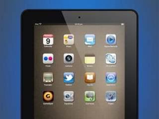 iPad2BlackPSD+PNG+ICO超精细iPad2分层PSD素材[转载][非原创]
