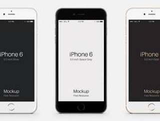 iPhone 6 Plus Psd矢量模拟