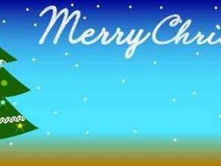 Christmas背景01