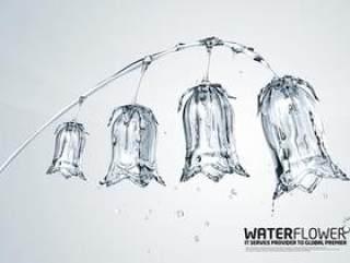 水之创意系列PSD分层素材-2