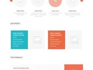 国外简约网站设计